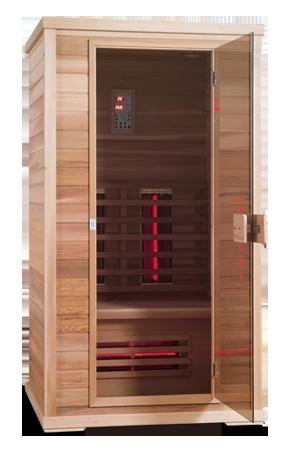 de infrarood sauna
