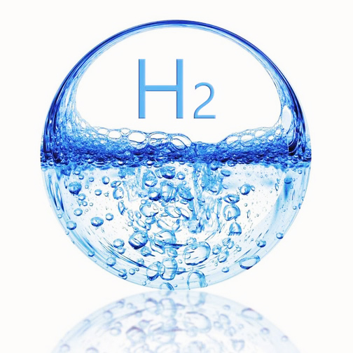 waterstof in water